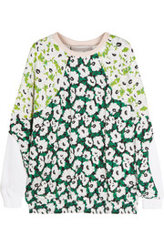Candice floral-print jersey sweatshirt