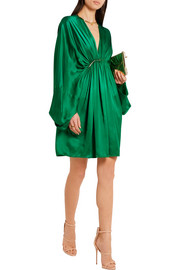 Stella McCartney Elitta draped satin mini dress
