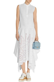 Stella McCartney Marion broderie anglaise cotton maxi dress