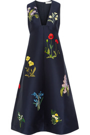 Stella McCartney Kaitlyn embroidered satin dress