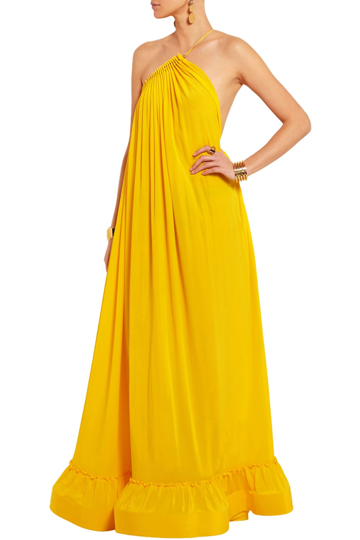 Stella McCartney Astrid silk-crepe gown