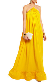 Stella McCartney Astrid silk-crepe gown