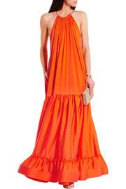 Stella McCartney Cassie tiered silk gown