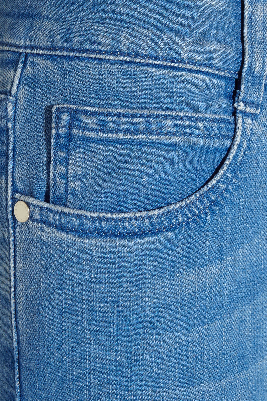 Stella McCartney Cropped low-rise bootcut jeans