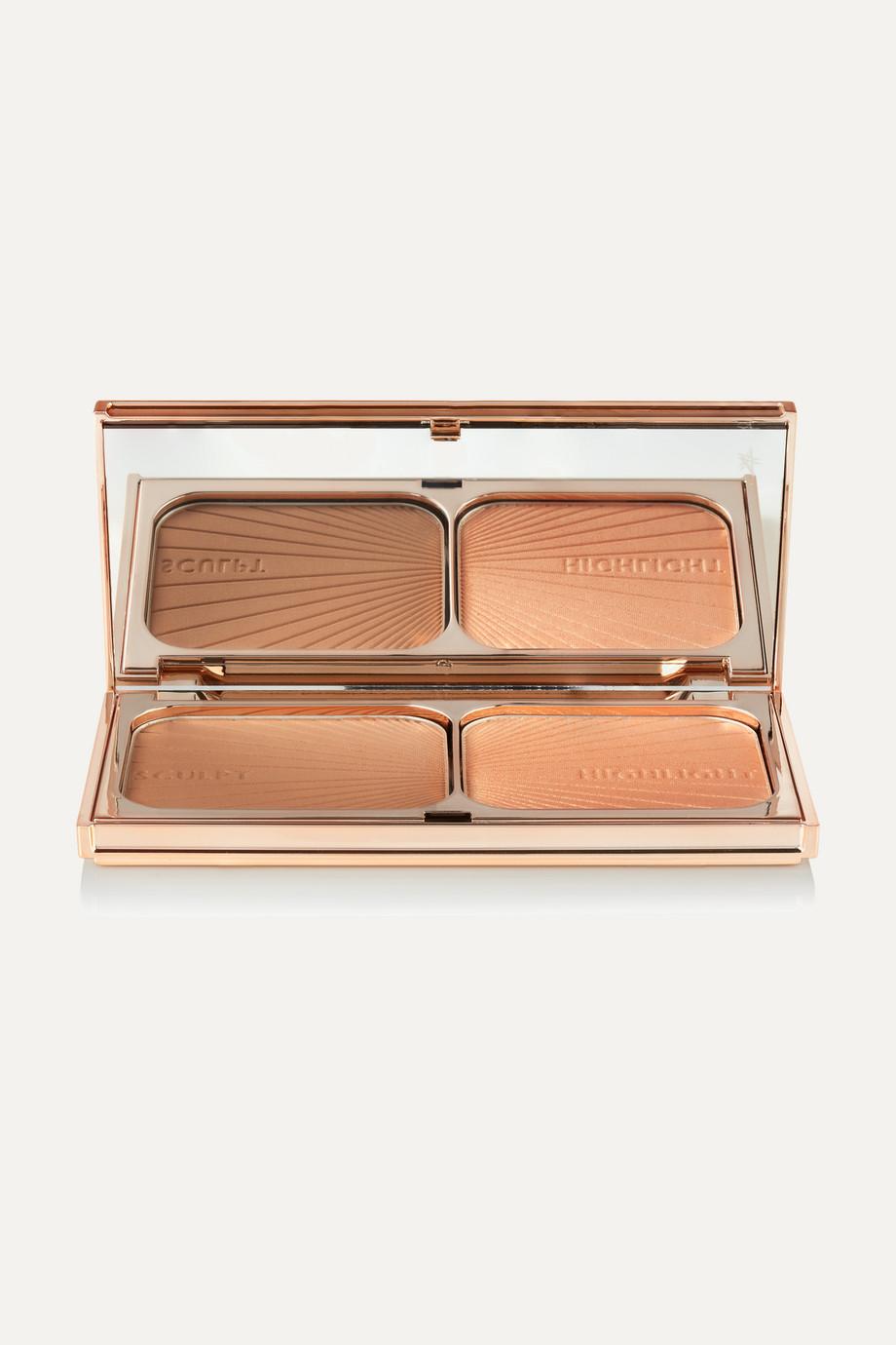 Charlotte Tilbury Filmstar Bronze & Glow – Medium to Dark, 12,5 g – Puder-Duo