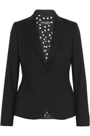 Dolce & Gabbana Stretch-wool blazer