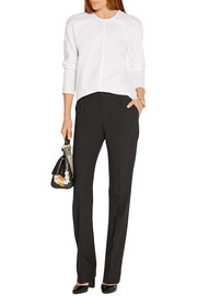 Dolce & Gabbana Stretch-wool straight-leg pants