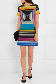 Missoni Crochet-knit mini dress