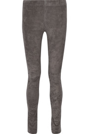 Joseph Stretch-suede leggings