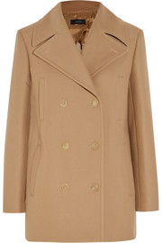 Cart cotton-blend twill coat