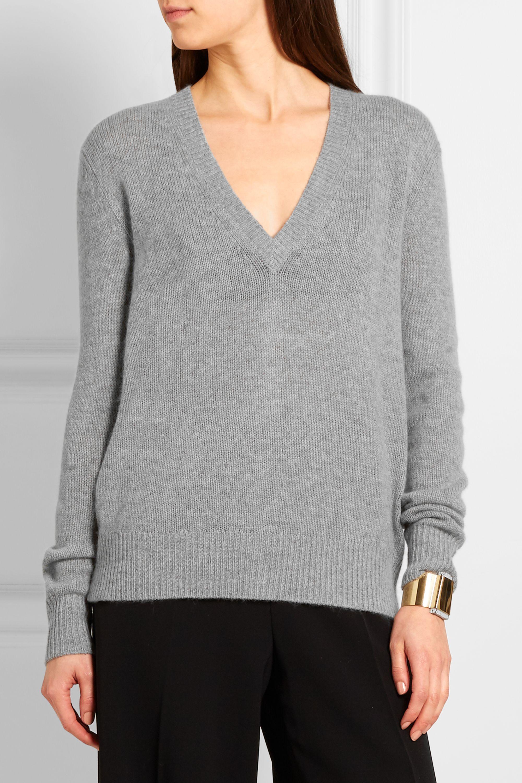 Joseph Button-detailed cashmere sweater