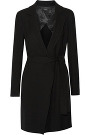 Kido double-faced stretch-wool twill coat