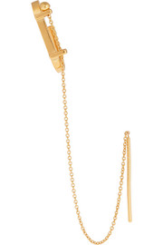 Tonkin gold-plated ear cuff