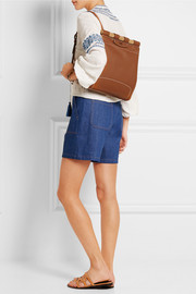 Tory Burch Dowel leather backpack