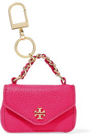 Tory Burch Kira leather keychain