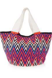 Jonas crocheted cotton tote