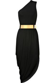 Michael Kors�|�One shoulder crepe-jersey dress�|�NET-A-PORTER.COM from net-a-porter.com