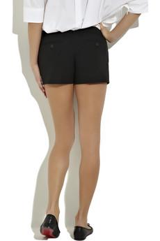 Michael KorsBlack cotton mini shorts