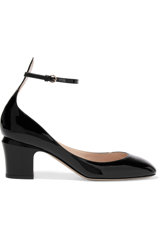 Valentino Valentino Garavani Tango patent-leather pumps