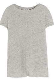 Frame Denim Le Muscle slub linen T-shirt