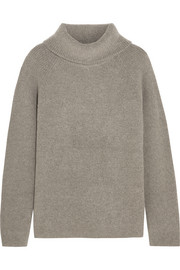 Le Funnel ribbed-knit cashmere-blend sweater