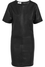 Le Leather mini dress