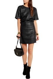 Frame Denim Le Leather mini dress
