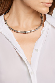 Pamela Love Rivera silver-plated choker