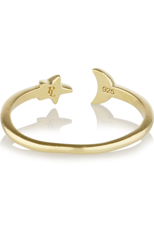Pamela Love Moon Age vergoldeter Ring