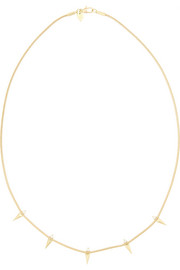 Revival 18-karat gold diamond necklace