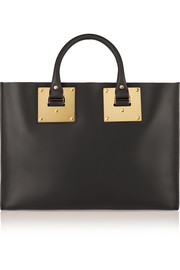 Albion leather tote