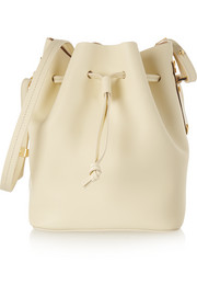 Nelson matte-leather bucket bag