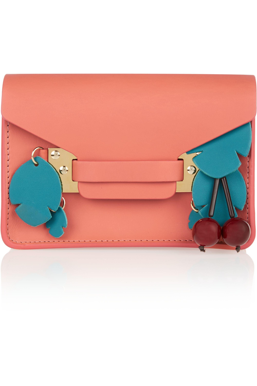 Sophie Hulme Milner nano embellished leather shoulder bag