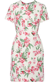 Jodie floral-print twill dress