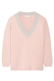Edith angora-blend sweater