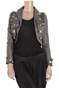 Temperley London | Ava studded leather jacket | NET-A-PORTER.COM from net-a-porter.com