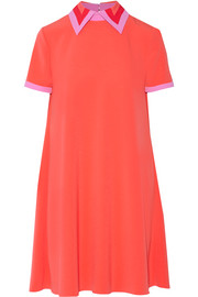 Roksanda Radner crepe-trimmed stretch-cady mini dress