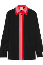 Roksanda Larrier striped crepe de chine shirt