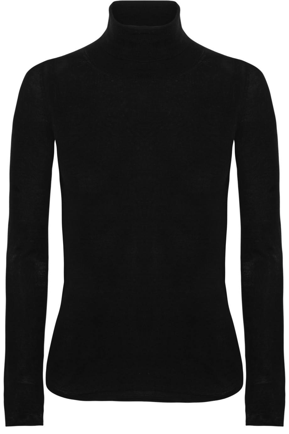 Joseph Merino Wool Turtleneck Sweater, Black, Women's