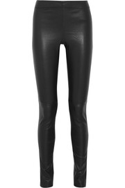 Joseph Stretch-leather leggings