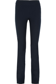 Lex stretch-gabardine flared pants