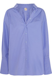 Tod's Oversized cotton-poplin shirt