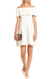 Valentino Off-the-shoulder jersey mini dress
