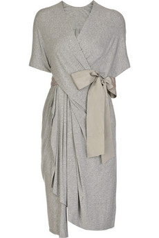 Donna Karan | Twist-front dress | NET-A-PORTER.COM from net-a-porter.com