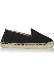 Manebi Amazonia snake-effect leather espadrilles
