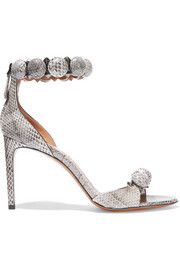 Alaïa Embellished snake sandals