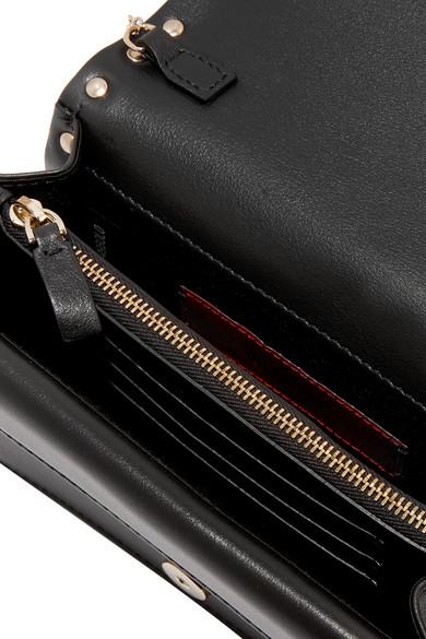 Valentino Rockstud Schultertasche aus Leder Spielraum 2018 Neu Preiswerte Art Und Stil Online-Shopping-Original Günstig Kosten 2POUDOb