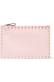 Valentino The Rockstud leather pouch