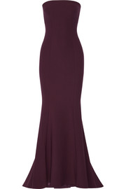 Kendra stretch-ponte gown