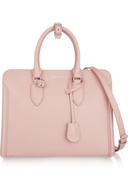 Alexander McQueen The Heroine textured-leather tote